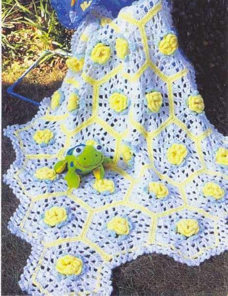 baby garden afghan pattern gardens afghan crochet