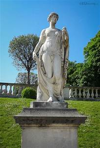 Photos, Of, Goddess, Of, Flowers, Statue, In, Luxembourg, Gardens