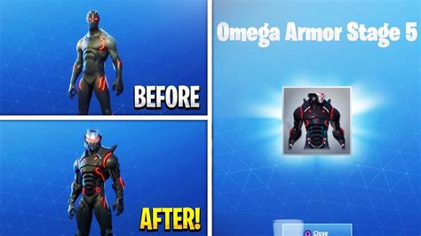 unlocking level  max omega season  full armor omega