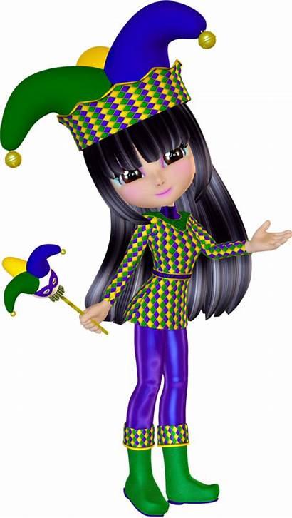 Jester Clipart Mardi Gras Clip Eclectic Transparent