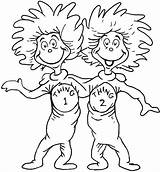 Seuss Dr Coloring Pages Printable Books Everfreecoloring Children sketch template