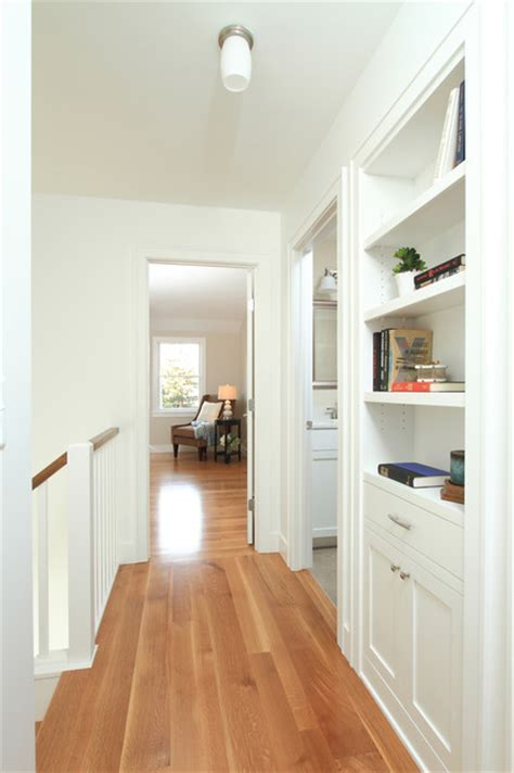 Hallway with built ins   Traditional   Hall   minneapolis