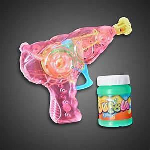 Extreme Glow Led Bubble Gun