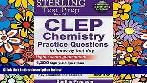 2013 Clep Chemistry Official Study Guide
