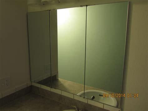 interior appealing trifold mirror   vanity ideas