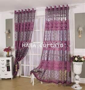 2color beautiful curtain design ideas tulle voile window