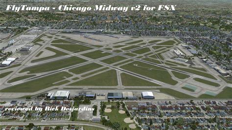 review  flytampas chicago midway   fsx chicago
