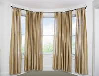 curtains for bay windows Best Curtain Rods for Bay Windows   HomesFeed