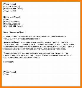 10, Resignation, Letter, Month, Notice, Template