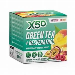 Green Tea X50 - 60 Serves | Tribeca Health X50