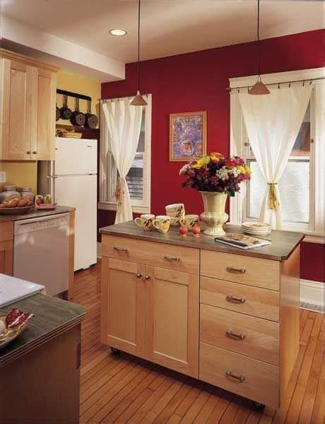 Kitchen Colour For Cabinets And Islands To Fire Up Your