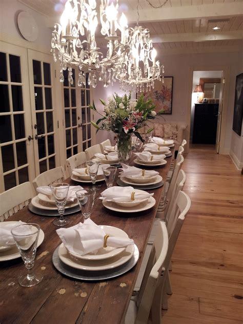 lighting trends   rock   long dining room