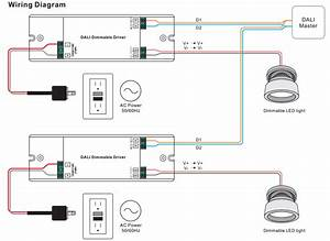 1 Channel Constant Current Dimmable Led Dali Driver Srp