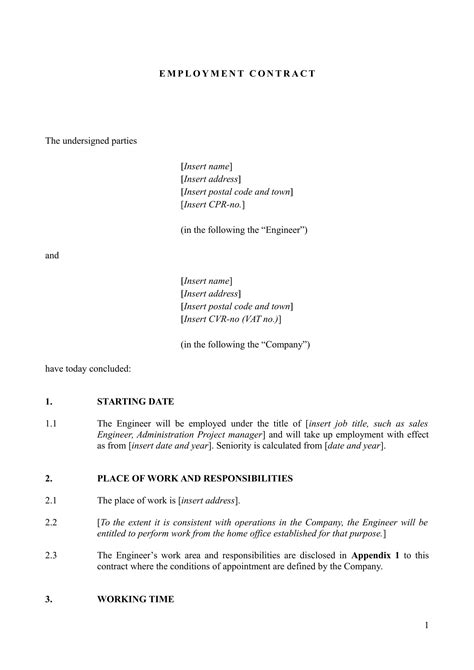 24+ Contract Templates - Pages, Docs, Word | Examples