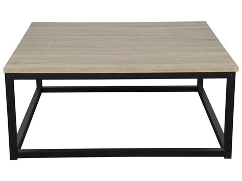 Table Basse Carrée Nicky  Vente De Table Et Chaises De