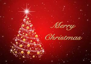 Merry Christmas Tree Red - Wallpaper | you can create ...