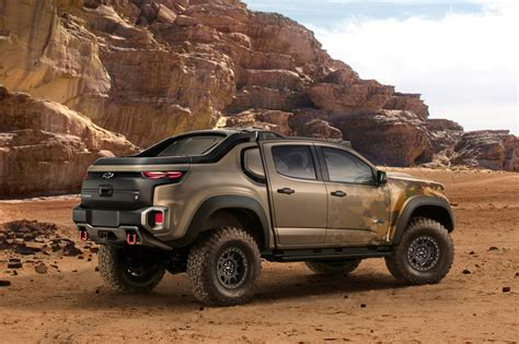 concept chevy gm u s army unveil chevrolet colorado zh2 fuel cell