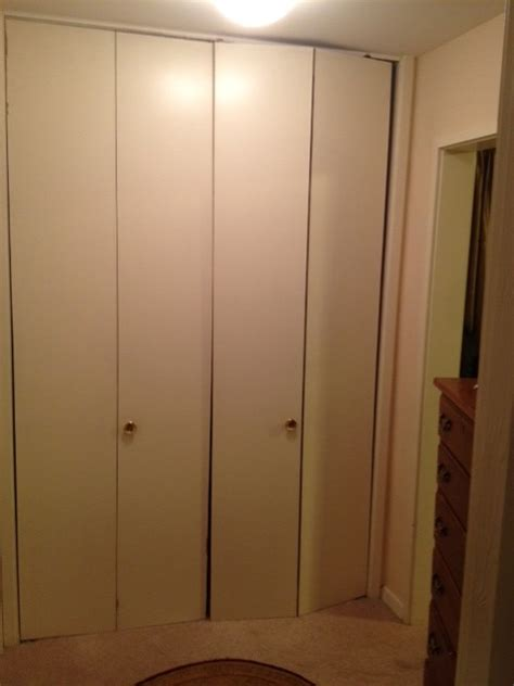 What To Do With Really Tall (old) Bifold Closet Doors?