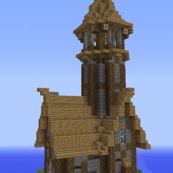 unfurnished medieval lighthouse grabcraft  number  source  minecraft buildings