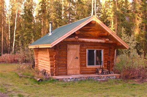 My Cozy 12 X 16 Foot Log Cabin
