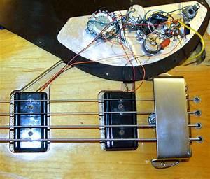 Gibson Ripper Bass Circuit Photographs  U0026gt  U0026gt  Flyguitars