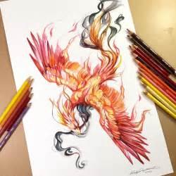 Tattoo Drawing Phoenix Birds