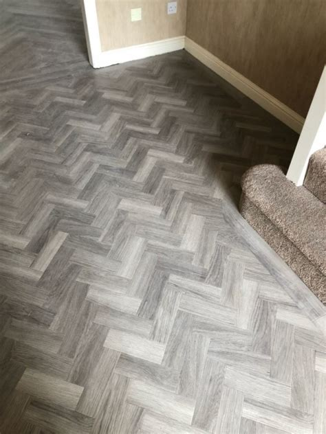 amtico spacia nordic oak herringbone project mcdonald