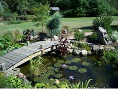 Water Garden Alfa Img Showing Water Garden Bridges