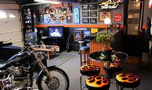 Garage Designs: Astonishing Dream Motorcycle Garage With