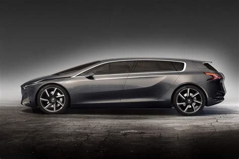 Frankfurt Show Preview Peugeots Hx1 Hybrid4 Mpv Concept