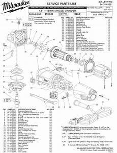 Milwaukee 6130-33 C27a Parts