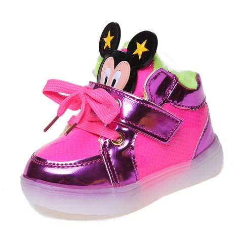 kids sneakers with lights aliexpress com buy baby shoes lights girls shoes led