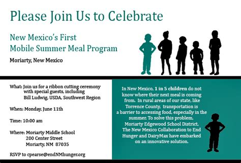 sle invitation letter to ribbon cutting ceremony bread new mexico mobile summer meals come to 84897