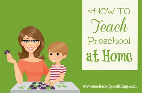 how to teach preschool at home in the home 572 | preschoolathome