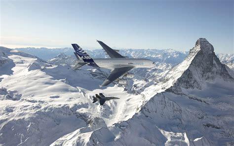 fond d ran de bureau wallpaper a380 airbus fond ecran avion wallpaper gratuit