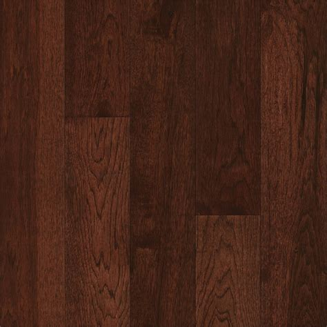 hickory solid hardwood flooring shop bruce america s best choice 5 in amber earth hickory solid hardwood flooring 23 5 sq ft