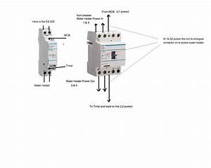 Single Pole Contactor Wiring Diagram