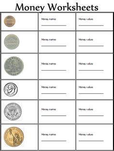 money worksheets   grade dollar bills