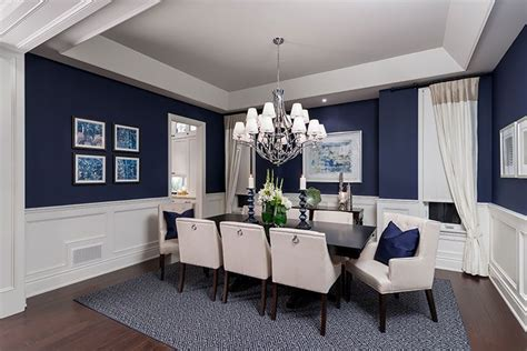 luxurious dining room design love  wall color