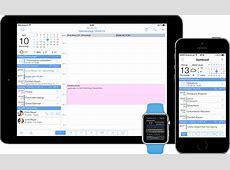 miCal Kalender App für Apple iOS iPhone und iPad