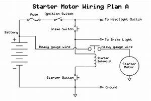 For Chinese Atv Starter Switch Wiring Diagram
