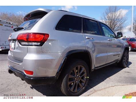 2016 silver jeep grand cherokee 2016 jeep grand cherokee limited 75th anniversary edition