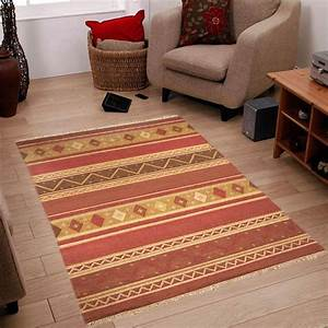 tapis ethnique orange sellingstgcom With tapis ethnique pas cher