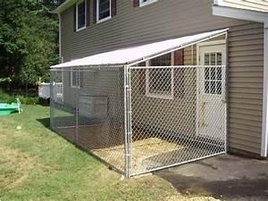 indoor outdoor dog kennel myfavoriteheadachecom With backyard dog enclosures
