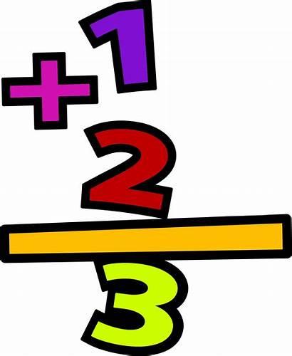 Math Clipart Addition Clip Transparent Mathematics Subtraction