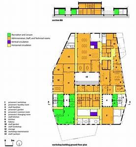 Storstr U00f8m Prison  Workshop Building U0026 39 S Plan And Section