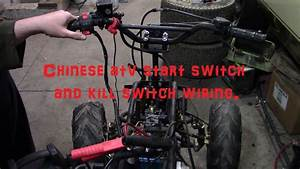 Chinese Atv Start Button And Kill Switch Wiring