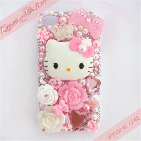 decoden phone supplies kawaii x couture princess hello kitty decoden iphone 4 4s