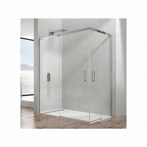 Paroi De Douche 70 Cm : paroi de douche d 39 angle crios acc s sur angle 70 x 100 cm ~ Melissatoandfro.com Idées de Décoration