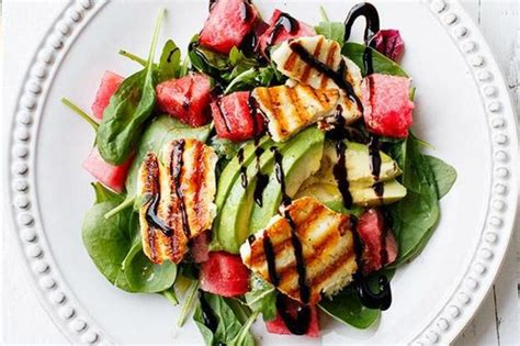 Ali finds the perfect Halloumi salad recipe!